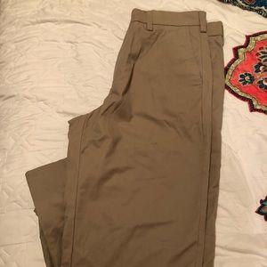 Men's Straight Khaki Pants
